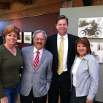 Left to right: Zoe Dunning, Mayor Edwin M. Lee, Supervisor Mark Farrell, and Mary Jung.