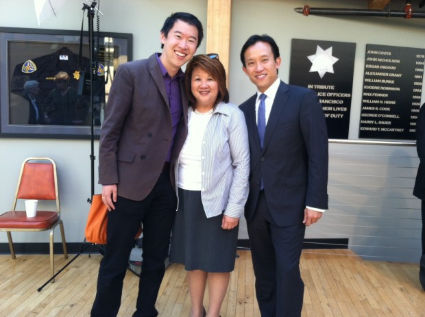 Left to right: Jay Cheng, Mary Jung, David Chiu