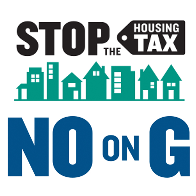 No - Prop G - Up to 24% surtax on residential property transfers