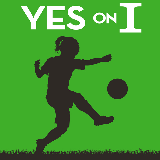 Yes on Prop I - Park code on Children's playgrounds, walking trails and athletic fields