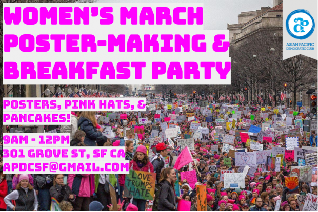 Women's March Flyer