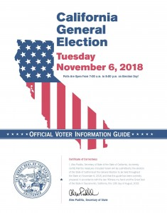California Voter Information Pamphlet